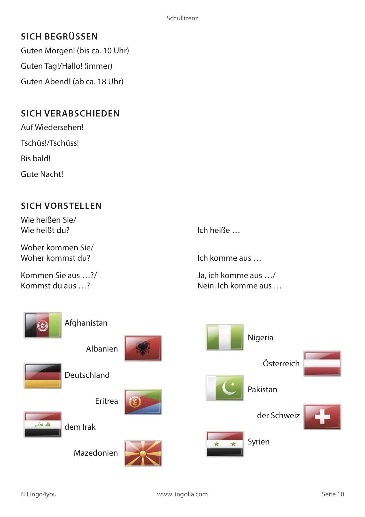 unterrichtsmaterial deutsch als fremdsprache deutsch als fremdsprache lingolia shop. Black Bedroom Furniture Sets. Home Design Ideas