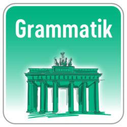 Grammatik Deutsch
