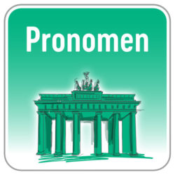Pronomen Deutsch