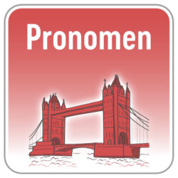 Pronomen Englisch