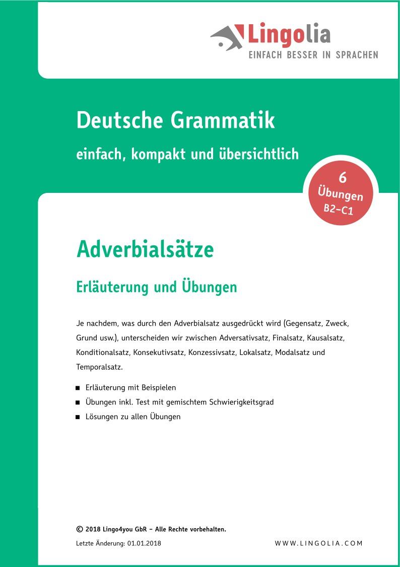 Adverbialsatze Learnattack 0