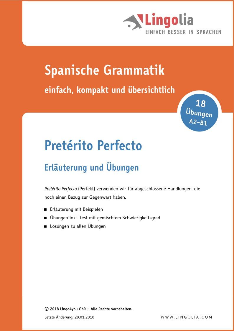 Luxury Druckbare Spanische Grammatik Arbeitsblatt Component ...