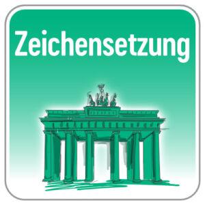 Zeichensetzung Deutsch
